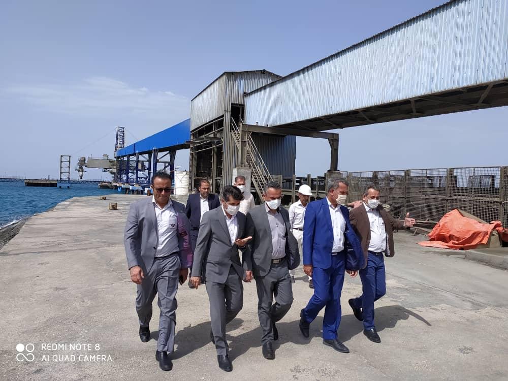 دیدار فرماندار شهرستان کنگان از شرکت آسیای آرام