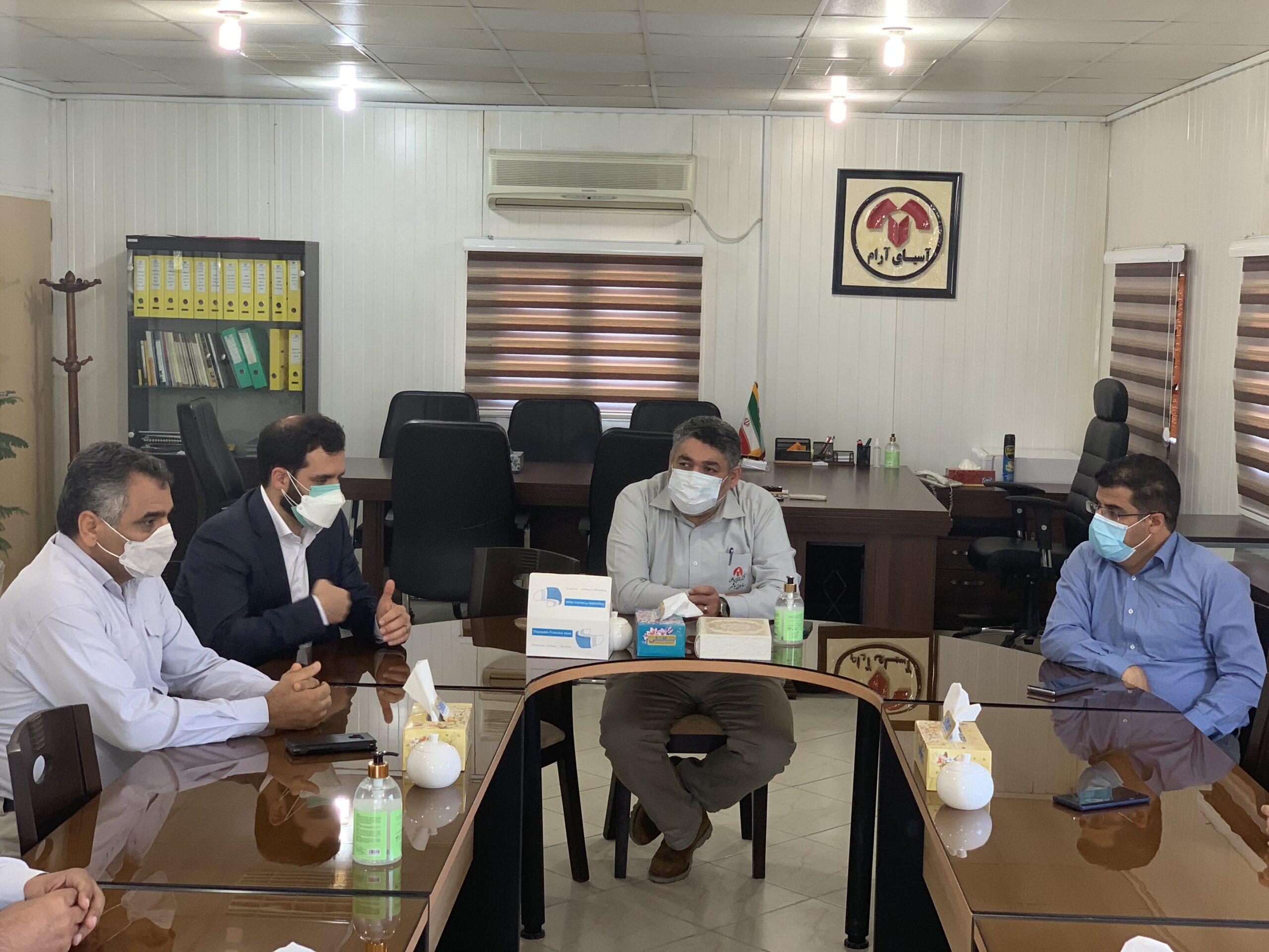 مراسم معارفه جناب آقای دکتر امامی به عنوان مدیر عامل جدید شرکت آسیای آرام